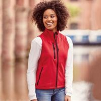 Women's softshell gilet Thumbnail