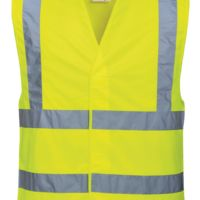 Hi-vis two band and brace vest (C470) Thumbnail